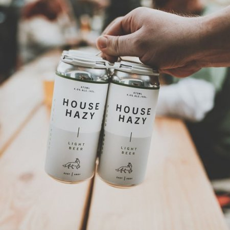 Field House Brewing Releasing House Hazy Light Beer