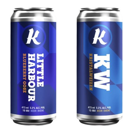 Kichesippi Beer Releasing Little Harbour Blueberry Gose and KW Kristalweizen