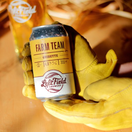 Left Field Brewery Releases Farm Team Grisette