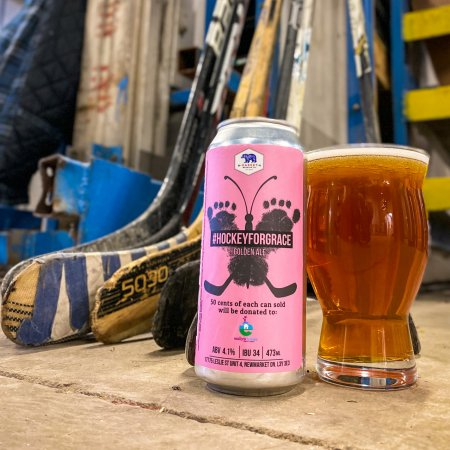 Market Brewing Releases Hockey For Grace Golden Ale