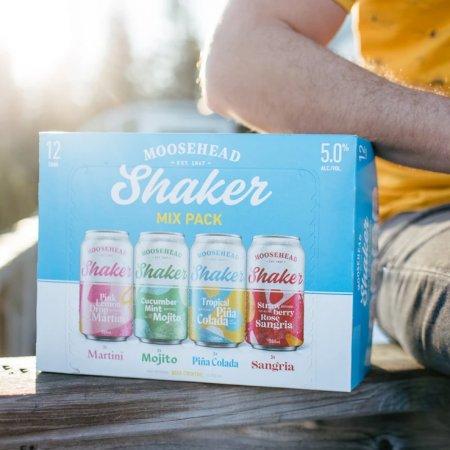 Moosehead Breweries Releases Shaker Beer Cocktails and Strawberry Lemonade Radler