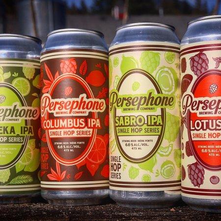Persephone Brewing Releases Quartet of Single Hop Hazy IPAs