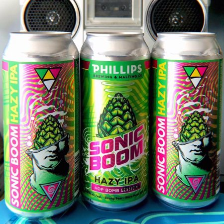 Phillips Brewing Releases Sonic Boom Hazy IPA
