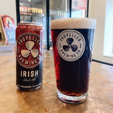 Propeller Brewing Irish Red Ale Returns in Nitro Cans