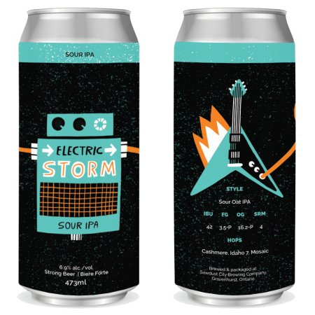 Sawdust City Brewing Releasing Electric Storm Sour IPA