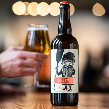 Strange Fellows Brewing Releases Lutin Barrel-Aged Wild Ale