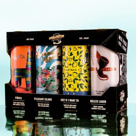 Wellington Brewery Releases Seasonal Mix Pack Vol. 8