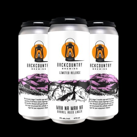 Backcountry Brewing Releases Mah Na Mah Na and Do Do Do Do Do Barrel Aged Lagers