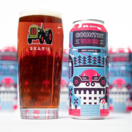 Beau's Brewing Releases Country Vibes Amber Lagered Ale