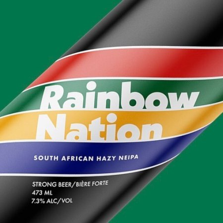 Cabin Brewing Brings Back Rainbow Nation South African NEIPA