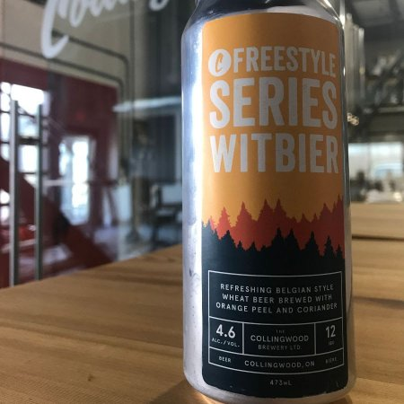 The Collingwood Brewery Freestyle Series Continues with Witbier