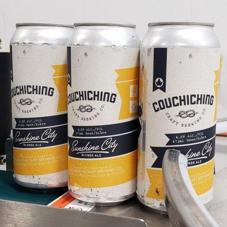 Couchiching Brewing Opening Next Week in Orillia, Ontario