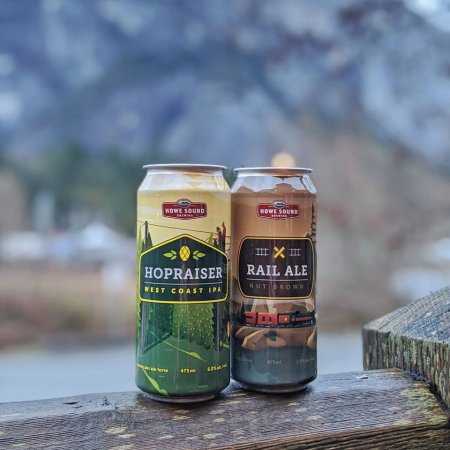Howe Sound Brewing Shifting From Bottles to Cans for Core Brands