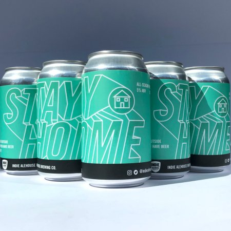 Indie Ale House Releases Stay Home All Season Pale Ale