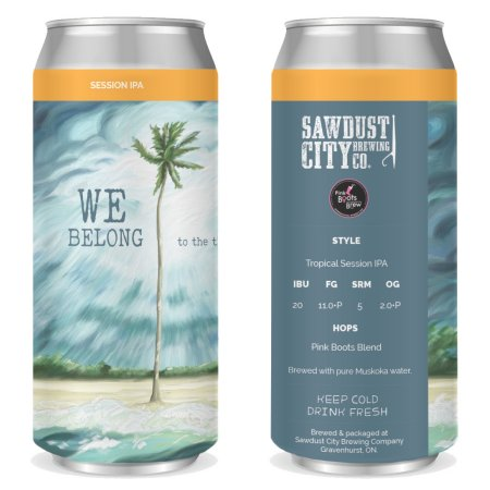 Sawdust City Brewing Releases We Belong to the Thunder Tropical Session IPA for Pink Boots Society