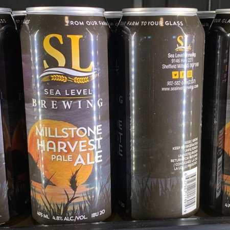 Sea Level Brewing Releases Millstone Harvest Pale Ale