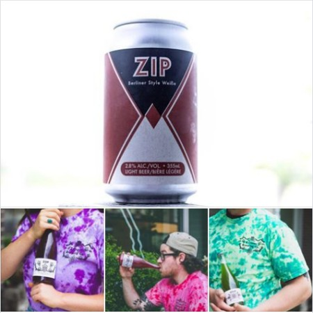 2 Crows Brewing Releases Zip Berliner Style Weisse and Barrel-Aged & Flavoured Variants