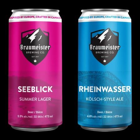 Braumeister Brewing Releasing Seeblick Summer Lager and Rheinwasser Kölsch