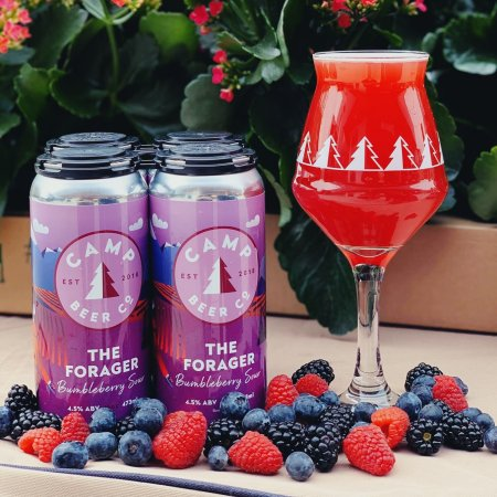 Camp Beer Co. Releases The Forager Bumbleberry Sour