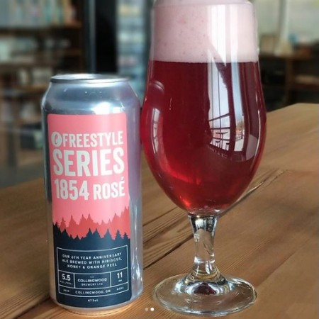 The Collingwood Brewery Freestyle Series Continues with 1854 Rosé