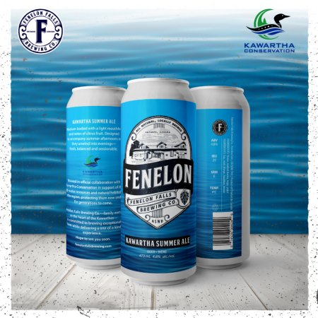 Fenelon Falls Brewing Brings Back Kawartha Summer Ale for Kawartha Conservation