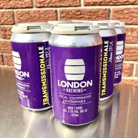 London Brewing Brings Back Transmission IPA for Radio Western