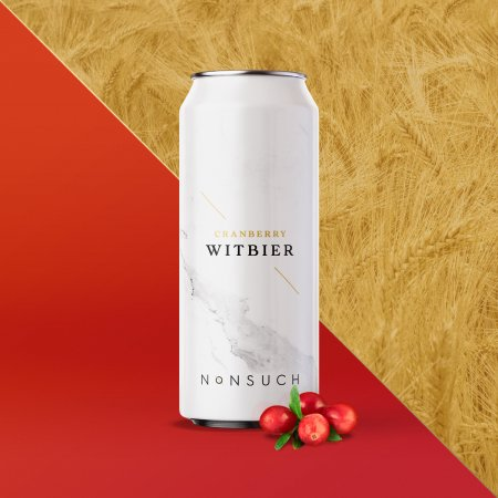 Nonsuch Brewing Releases Cranberry Witbier