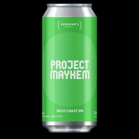 Sookram's Brewing Releases Project Mayhem West Coast IPA