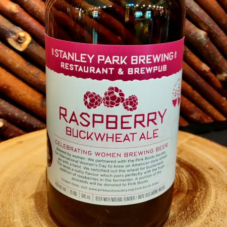 Stanley Park Brewing Releases Raspberry Buckwheat Ale for Pink Boots Society