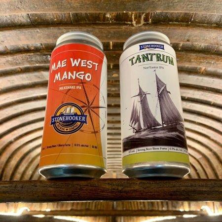 Stonehooker Brewing Releases Mae West Mango Milkshake IPA and Tantrum Nor'Easter IPA