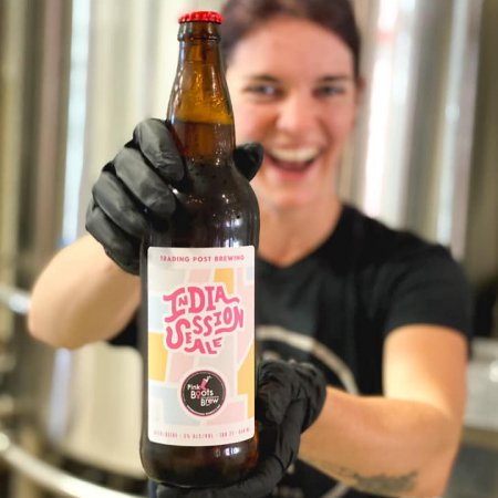Trading Post Brewing Releases India Session Ale for Pink Boots Society