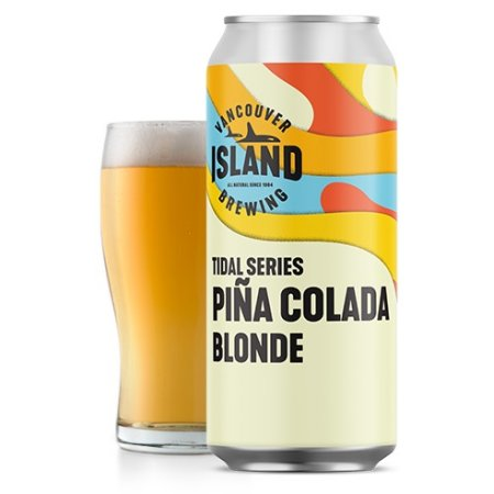 Vancouver Island Brewing Tidal Series Continues with Piña Colada Blonde