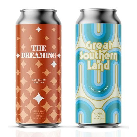 Cabin Brewing Releases The Dreaming Australian Hazy IPA and Great Southern Land Australian Pilsner