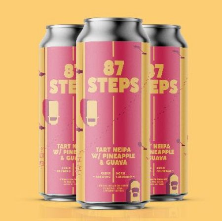 Cabin Brewing and Born Colorado Brewing Release 87 Steps Tart NEIPA