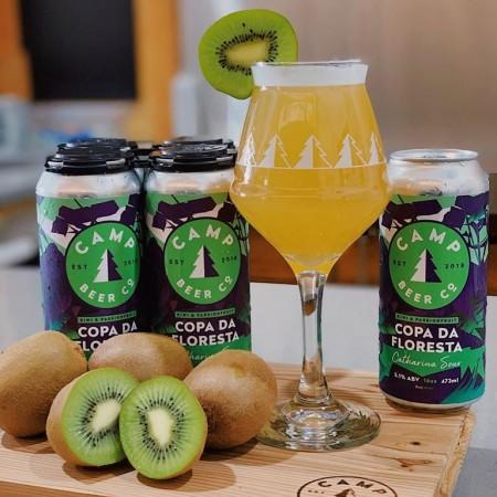 Camp Beer Co. Releases Kiwi & Passionfruit Copa Da Floresta