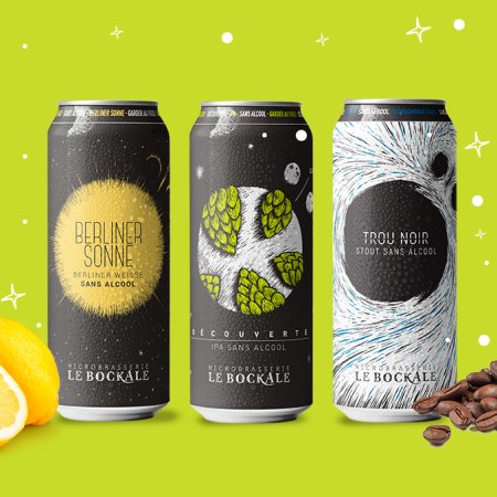 Non-Alcoholic Microbrasserie Le BockAle Launches Online Store with Free Cross-Canada Shipping