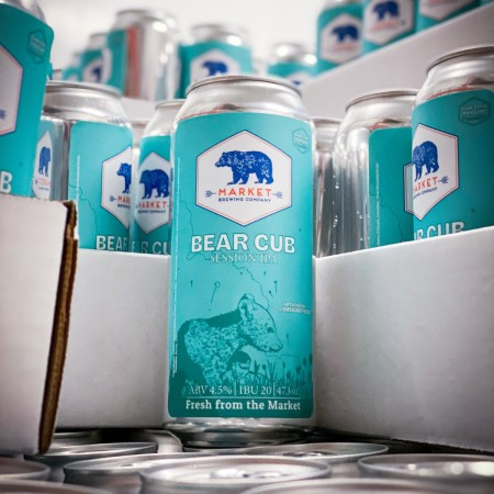 Market Brewing Releases Bear Cub Session IPA
