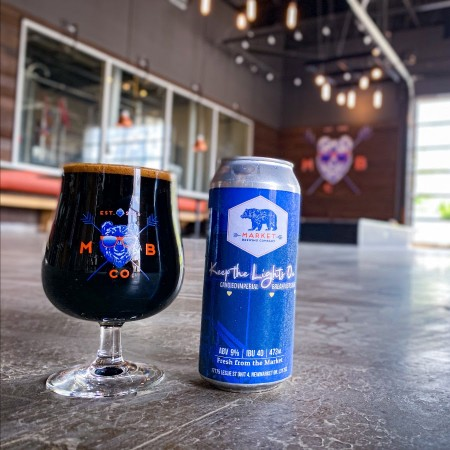 Market Brewing Releases Keep The Lights On Imperial Stout for 3rd Anniversary