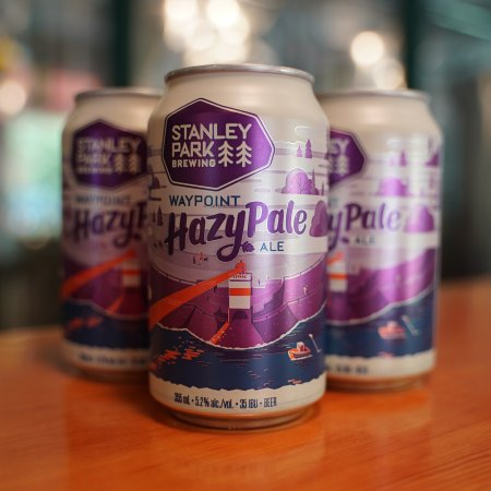 Stanley Park Brewing Releases Waypoint Hazy Pale Ale