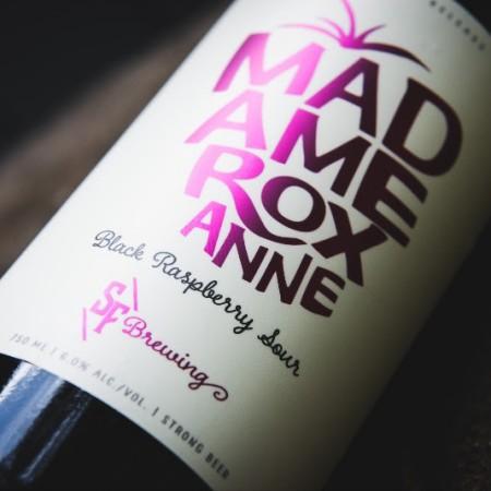 Strange Fellows Brewing Releases Madame Roxanne Black Raspberry Sour