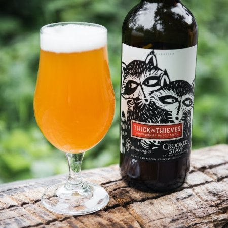 Strange Fellows Brewing and Crooked Stave Brewery Releasing Thick as Thieves Wild Saison