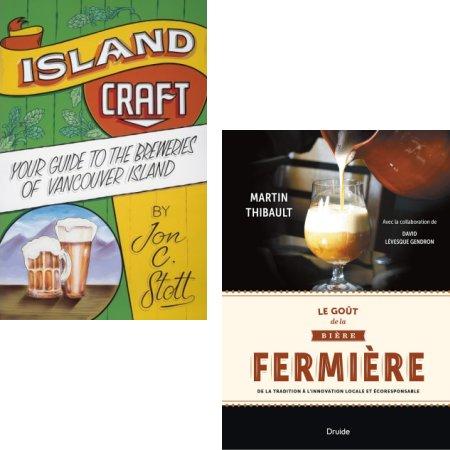 """""""Island Craft"""" and """"Le Goût de la Bière Fermière"""" Shortlisted for Taste Canada Awards"""