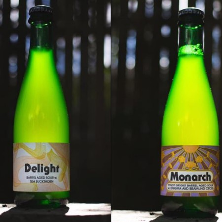 2 Crows Brewing Releases Delight and Monarch Barrel-Aged Sours