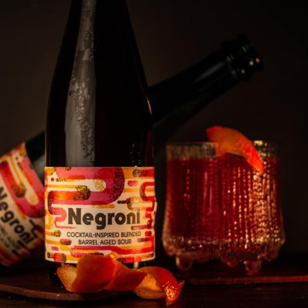 2 Crows Brewing Releases Negroni Barrel Aged Sour