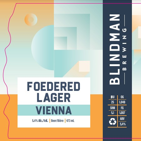 Blindman Brewing Launches Foedered Lager Series with Vienna