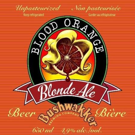 Bushwakker Brewing Brings Back Blood Orange Blonde Ale