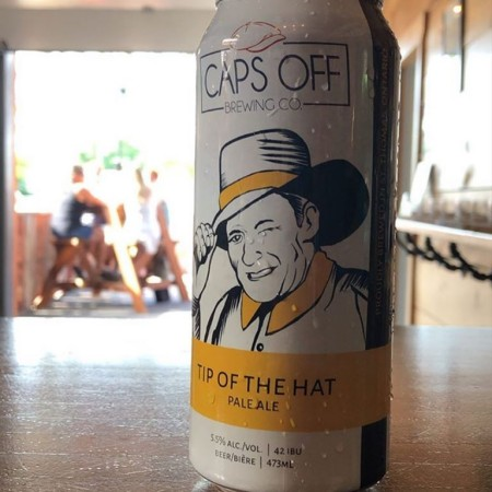 Caps Off Brewing Releases Cans of Tip of the Hat Pale Ale