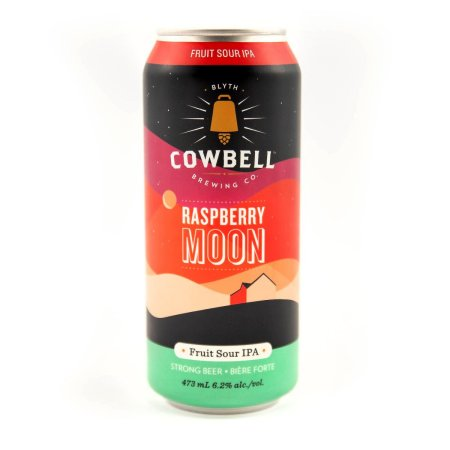 Cowbell Brewing Releases Raspberry Moon Fruit Sour IPA