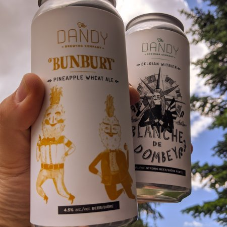 Dandy Brewing Releases Bunbury Pineapple Wheat Ale and Blanche de Dombey
