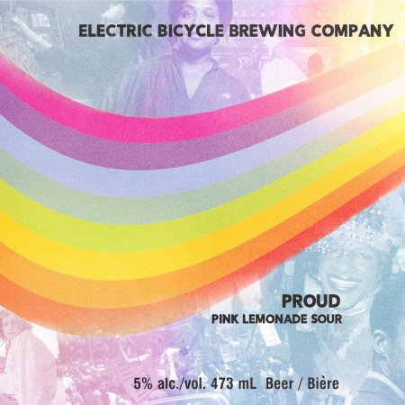 Electric Bicycle Brewing Releases PROUD Pink Lemonade Sour for Vancouver Pride and QMUNITY